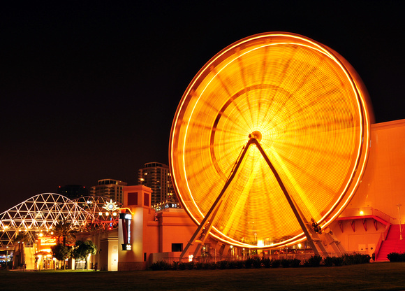 Long Beach, CA - The Pike Ferris Wheel