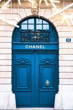 Parisian Door 1 (Chanel)